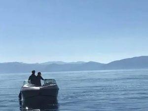 incline village boat